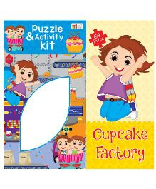 Art Factory Puzzle And Activity Kit Cupcake Factory - 64 Pieces