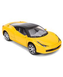 Toymaster Die Cast Pull Along Toy Car - Yellow
