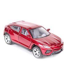 Toymaster Pull Back Die Cast Car Model - Maroon