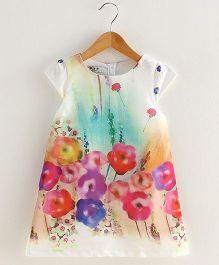 Lil Mantra Floral Dress - Blue