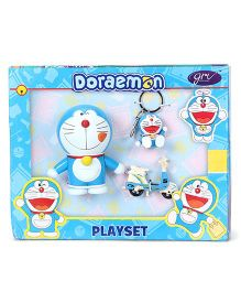 Doraemon Play Set - Blue White