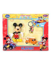 Mickey Mouse Play Set - Red Orange