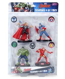 Marvel Avengers 4 in 1 Figure Pack - 8 cm