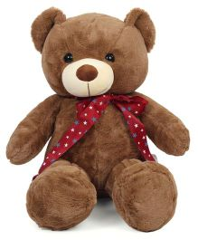 Dimpy Stuff Standing Teddy Bear Soft Toy Brown - 70 cm