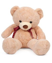 Dimpy Stuff Standing Teddy Bear Soft Toy Light Brown - 90 cm