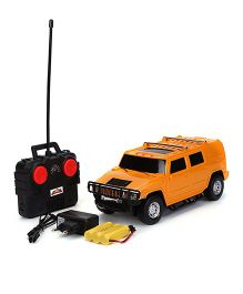 Mitashi Dash Remote Control Rechargeable Street Masters Car - Orange