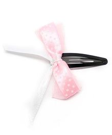 Eternz Haedos Collection Bow Hairclip - Pink