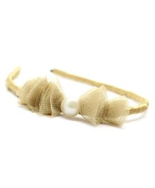 Eternz Haedos Collection Hair Band - Golden
