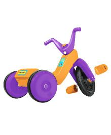 OK Play Falcon Manual Pedal Tricycle - Purple And Orange