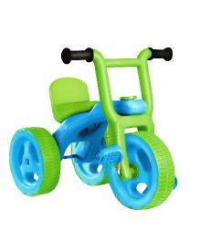 OK Play Pacer Tricycle - Blue & Green