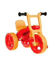 OK Play Pacer Tricycle - Red & Orange