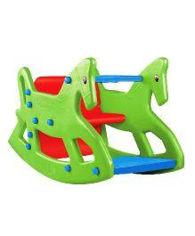 OK Play Roxy 2 In 1 Rocker Cum Table Chair - Green