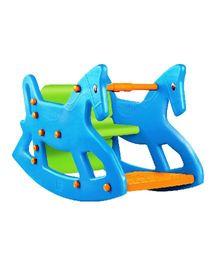 OK Play Roxy 2 In 1 Rocker Cum Table Chair - Blue