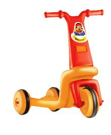 OK Play Speedo 3 Wheel Bike - Red & Orange