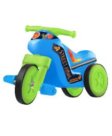OK Play Street Hawk Paddle Bike Ride On - Blue