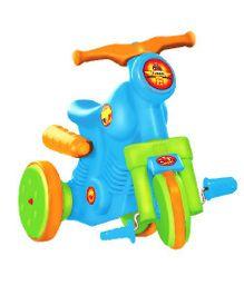 OK Play Turbo Paddle Bike Ride On - Blue