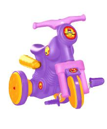 OK Play Turbo Paddle Bike Ride On - Purple