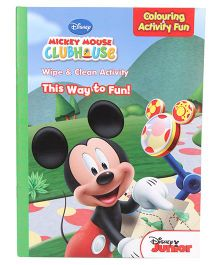 Disney Mickey Mouse Clubhouse Wipe And Clean Activity - Multicolor