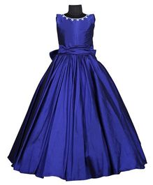 The Wild Cat Sapphire Victorian Gown - Royal Blue