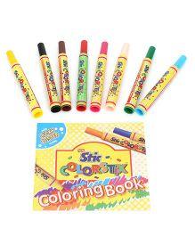 Stic Jumbo Sketch Pens - Pack of 8