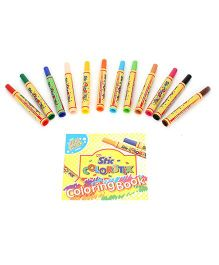 Stic Jumbo Sketch Pens - Pack of 12