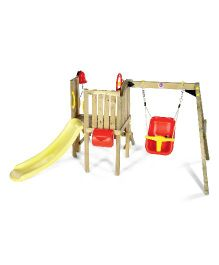 Plum® Toddlers Tower Wooden Play Centre