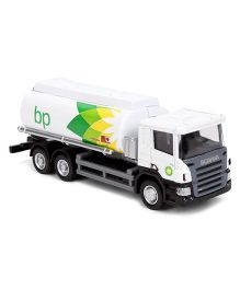 RMZ Scania BP Oil Tanker Toy - White