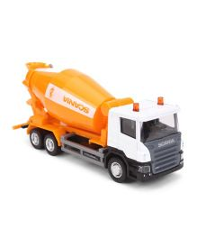 RMZ Scania Cement Mixer - White And Orange