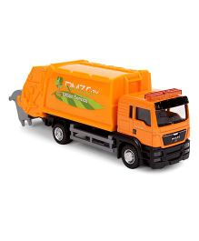 RMZ MAN Garbage Truck Model - Orange