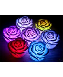 EZ Life LED Roses (Pack Of 6) - Multicolour