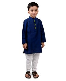 Raghav Kurta & Pyjama Set - Royal Blue