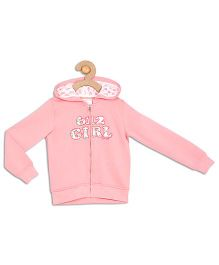 612 League Full Sleeves Hooded Jacket - Pink