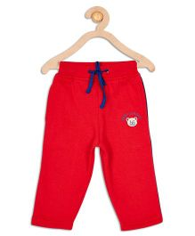 612 League Full Length Drawstring Track Pants - Red