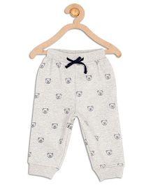 612 League Full Length Drawstring Multi Print Track Pants - Grey