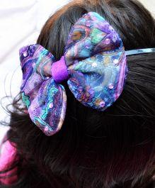 Pretty Ponytails Passion Chiffon Hair Band - Purple