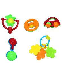 Mamaboo Rattle Set Multicolor - 5 Pieces