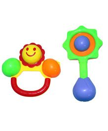 Mamaboo Rattle Set Multicolor - 2 Pieces