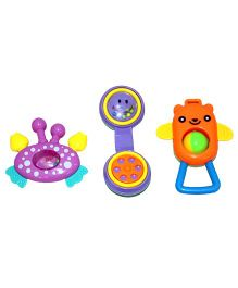 Mamaboo Mobile Rattle Set Multicolor - 3 Pieces