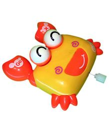 Mamaboo Wind Up Bath Toys Crab - Orange