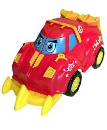Mamaboo Pull N Race Crash Cars - Red