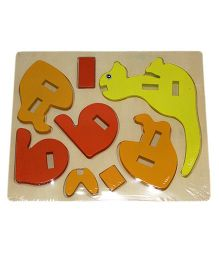 Mamaboo Wooden 3D Animal Puzzle Kangaroo Multicolor - 8 Pieces