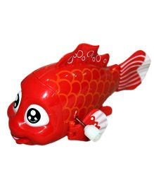 Mamaboo Wind Up Bath Toy Fish - Red