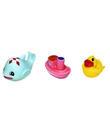 Mamaboo Squeeze Bath Toys - Pack Of 3