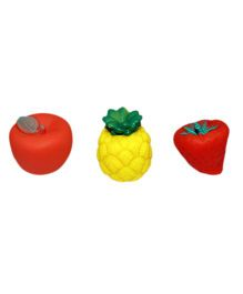 Mamaboo Fruits Squeeze Bath Toys - Pack Of 3