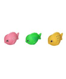 Mamaboo Fish Squeeze Bath Toys - Pack Of 3