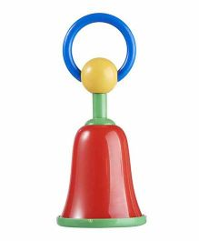 Rikang Bell Shaped Hand Rattle - Multicolor