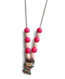 Milonee Beads Necklace With Doll - Pink