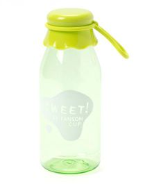 EZ Life Cute Milk Bottle Style Water Bottle  - Green