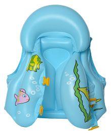 EZ Life Fish Inflatable Body Vest Float - Blue