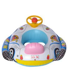 EZ Life Inflatable Aeroplane Swimming Ring Float - Multicolour